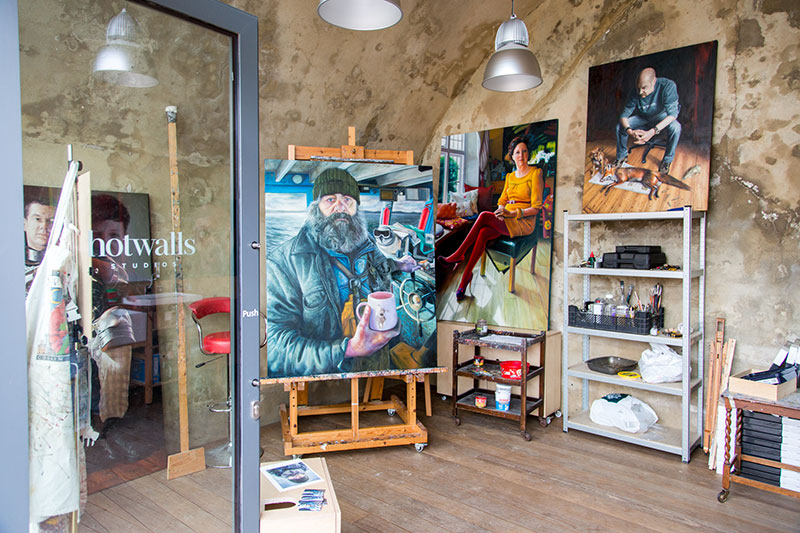 See creatives at workHome   The Hotwalls Studios. Artist Studio Furniture Uk. Home Design Ideas