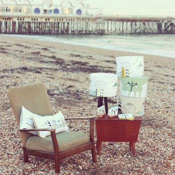 product shots on Southsea beach