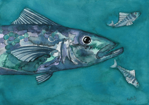 fish painting, Ruth