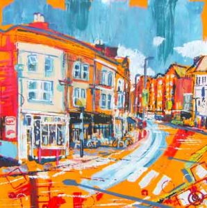 albert road summer painting