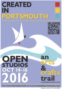 Created in Portsmouth Poster