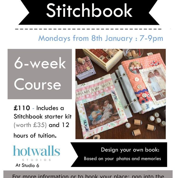 stitchbook 6 week course flyer