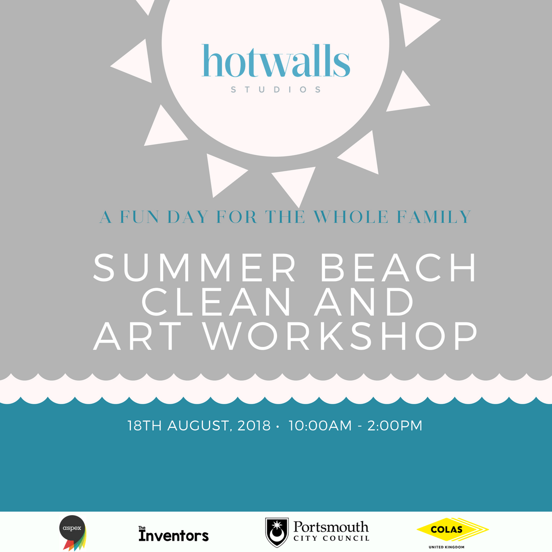 Beach Clean and Workshop Flyer