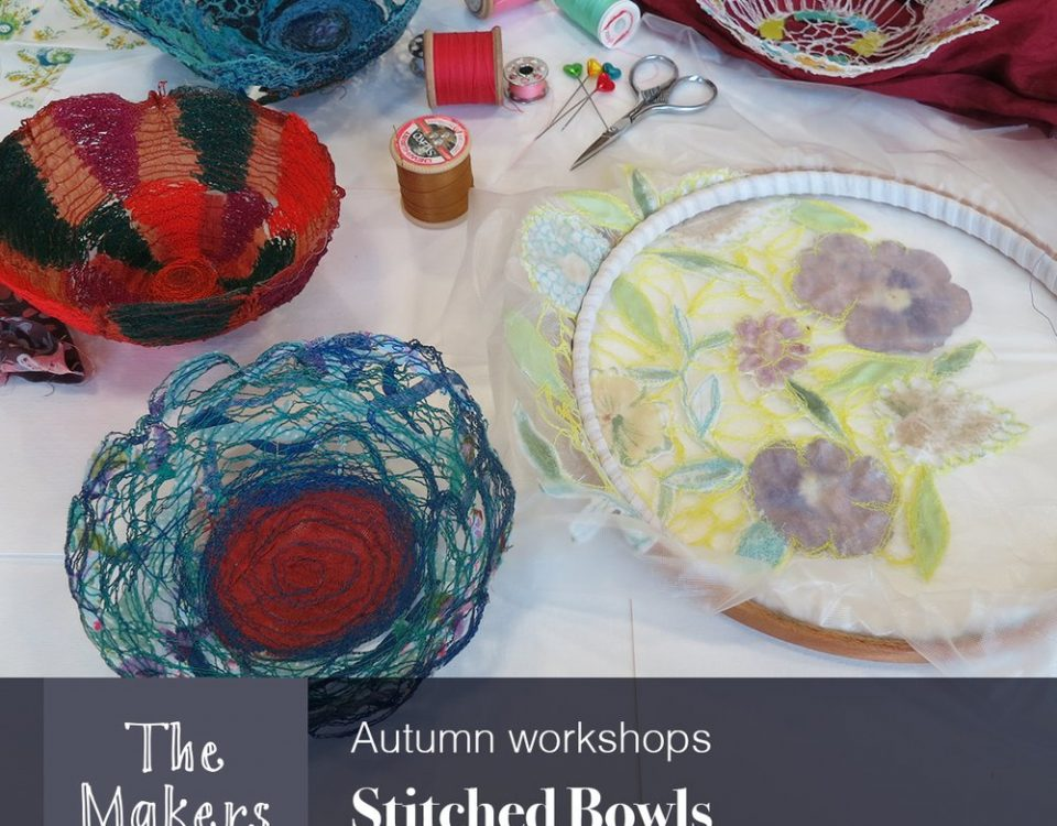 Stitched Bowls Workshop - The Makers Table