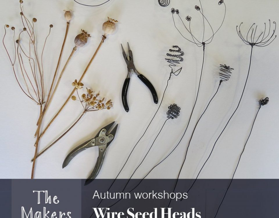Wired Seed Heads - The makers table