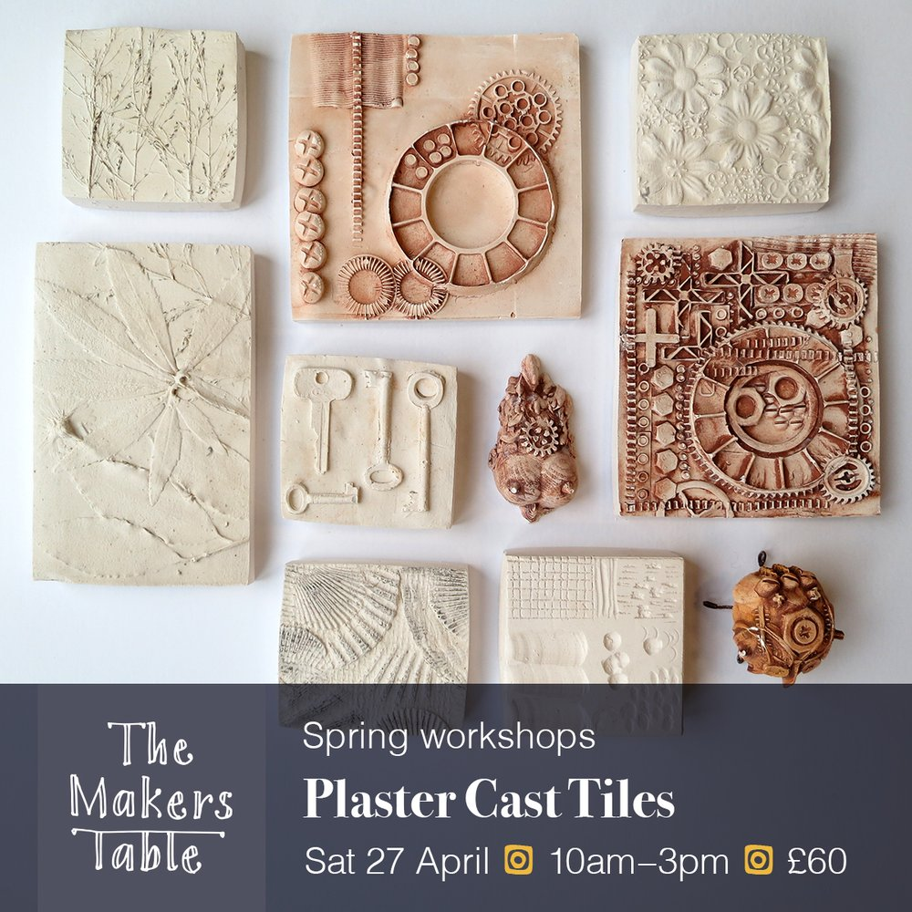 Plaster cast workshop - The Makers Table