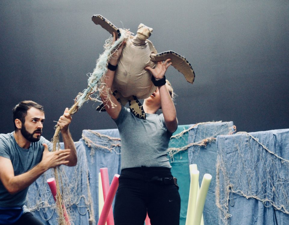 Todos Teatro - turtles dont like plastic