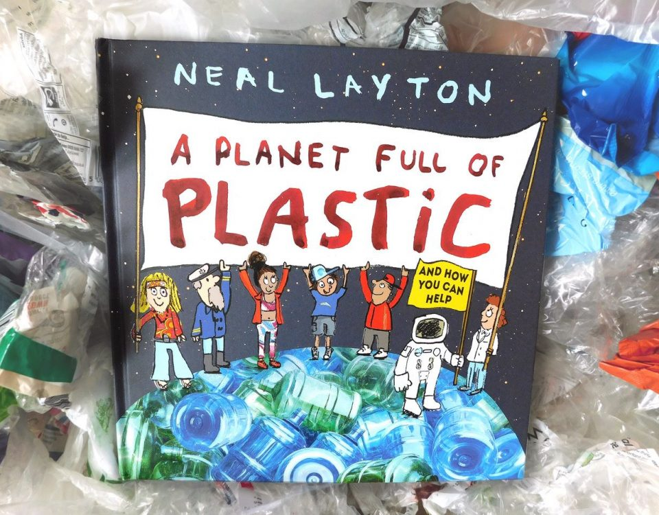 Planet full of plastic book