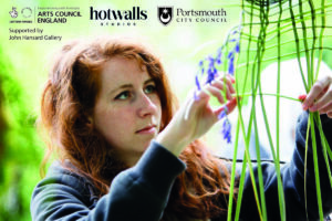 Interactive Weaves poster featuring Alice Hume