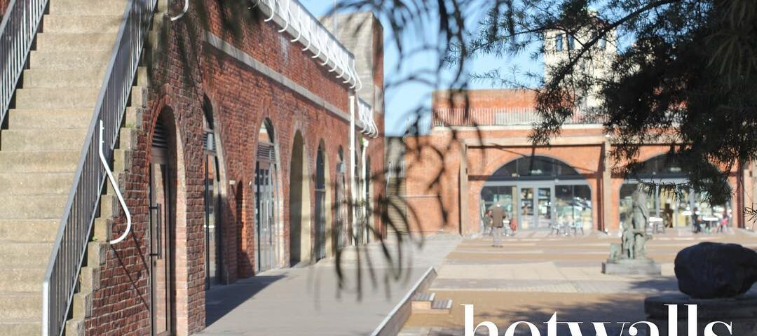 A photo of the Hotwalls Studios in Portsmouth. Home of our 13 resident artists offering there hand craft art for sale.