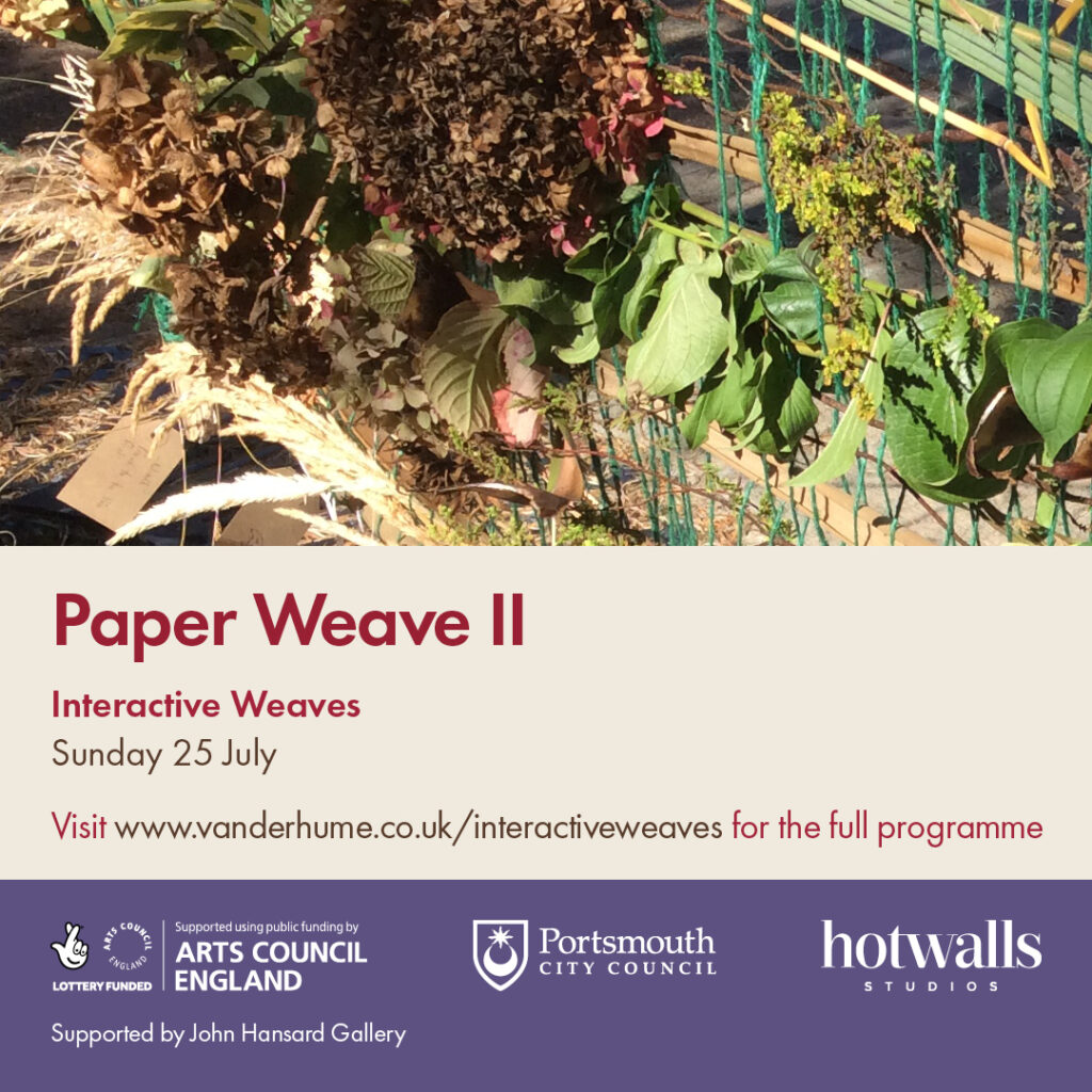 Poster for Paper Weaves II